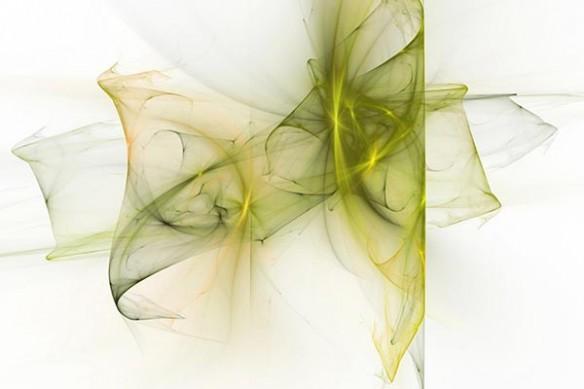 déco salon design toile moderne jaune