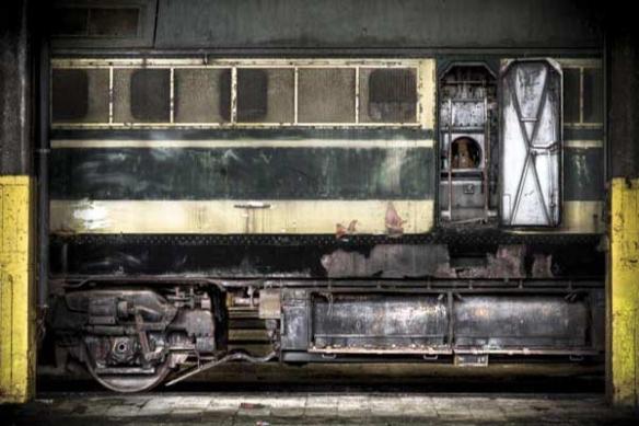 poster mural orignal déco industrielle Wagon