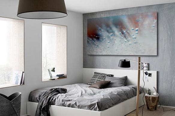 Tableau déco mural photo Bille eau