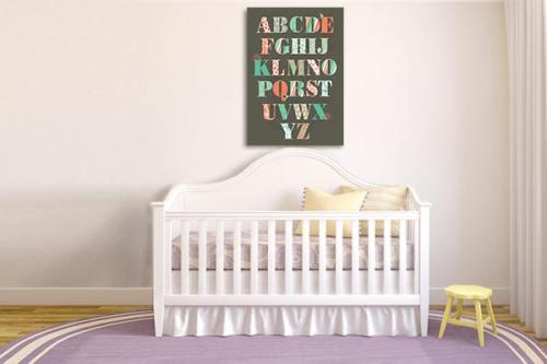 Tableau pour chambre enfant Abécédaire