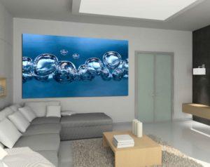 tableau moderne bubbles izoa