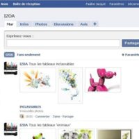 Izoa sur Facebook !