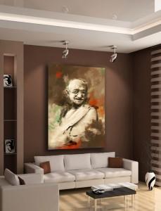 Tableau Gandhi_Izoa