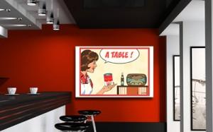 Tableau A table Izoa