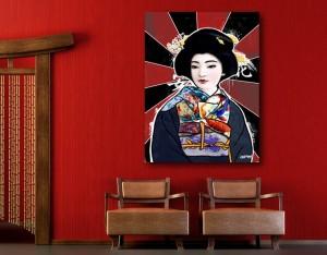 tableau geisha_izoa