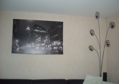 tableau new york noir et blanc izoa chez Aline