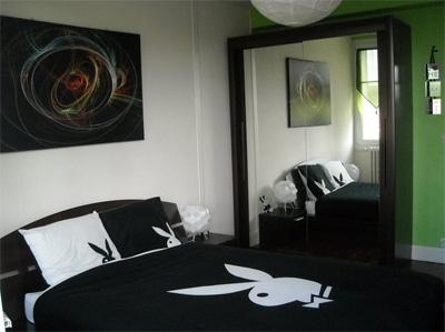 Tableau pour chambre moderne Izoa chez Jeremy