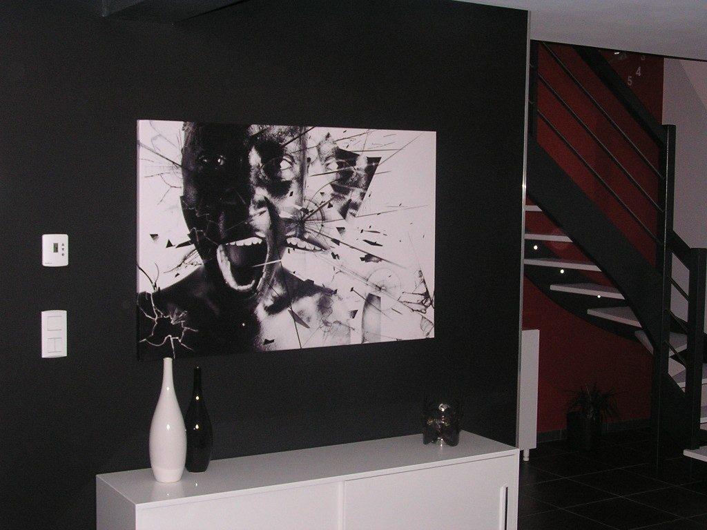 Cadre déco salon izoa chez Emilie