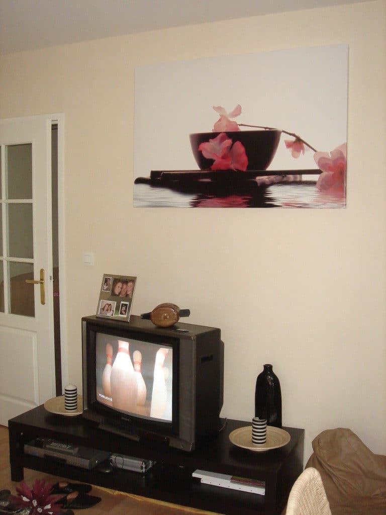 déco murale salon zen