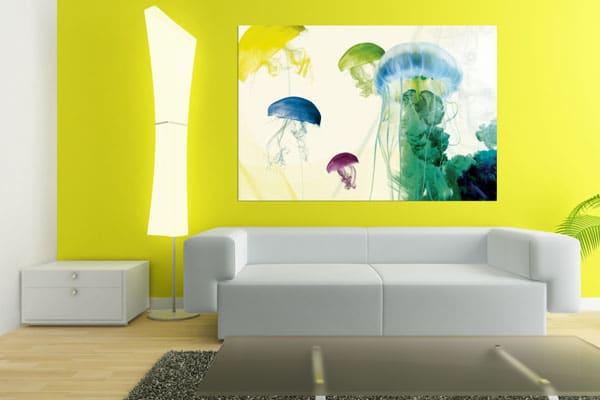 tableau original meduses Izoa