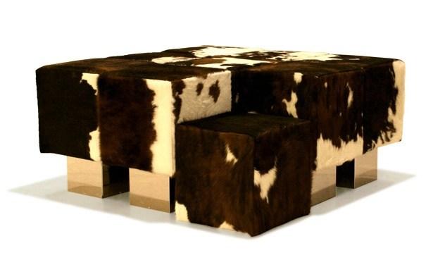 canapé design cube original