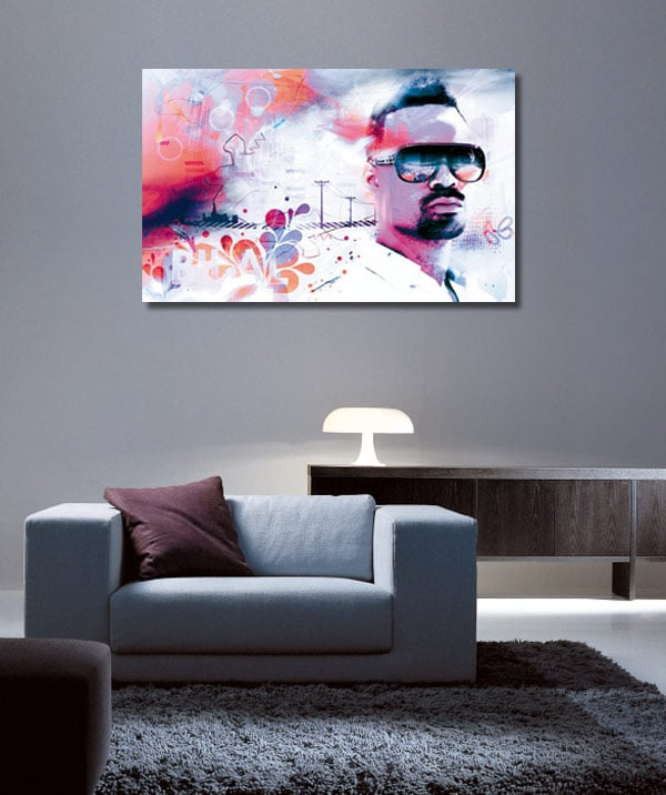tableau moderne bilal izoa