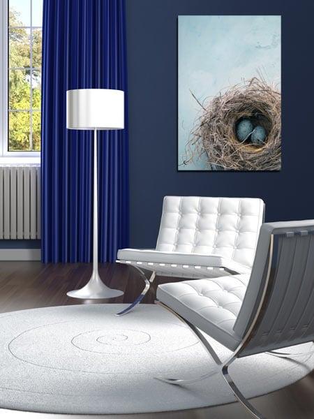 tableau moderne nid