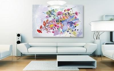 tableau nature fleurs