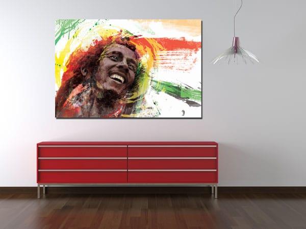 déco murale originale Bob Marley