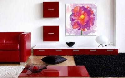 Tableau décoratif flora