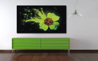 tableau décoratif trèfles à quatre feuilles
