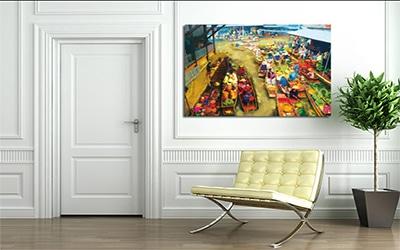 nouveau tableau d co march asiatique blog toile design et moderne d 39 izoa. Black Bedroom Furniture Sets. Home Design Ideas