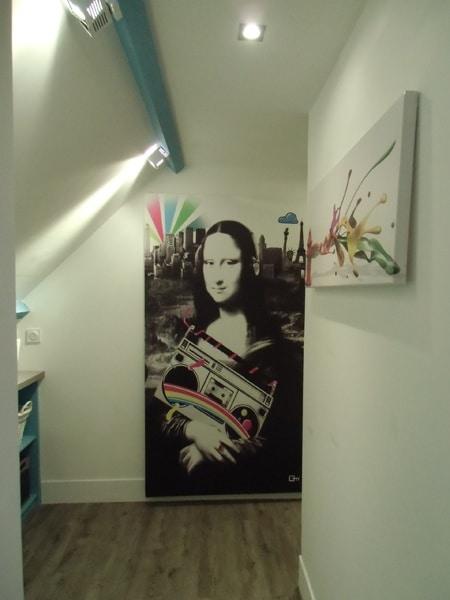 tableau célèbre mona lisa Izoa sur m6