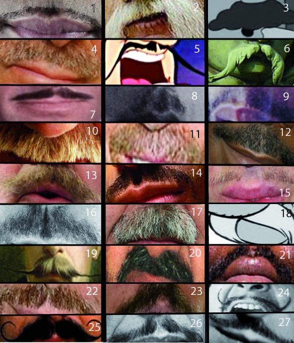 Jeu concours : A qui appartient cette moustache