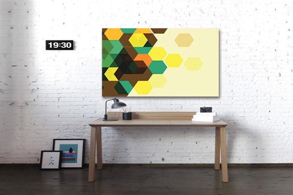 Nouveau tableau abstrait design