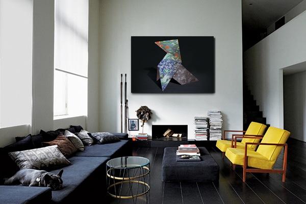 nouveaut d coration murale pliage japonais. Black Bedroom Furniture Sets. Home Design Ideas