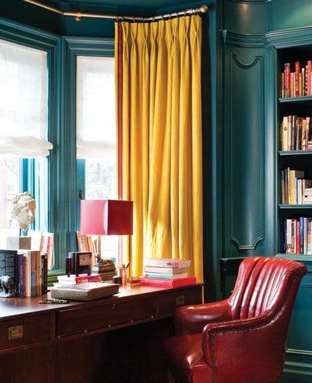 couleur tendance du moment le jaune moutarde. Black Bedroom Furniture Sets. Home Design Ideas