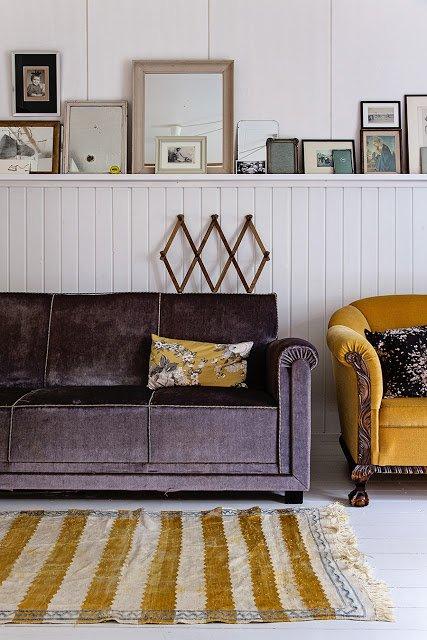 couleur tendance du moment le jaune moutarde blog izoa. Black Bedroom Furniture Sets. Home Design Ideas