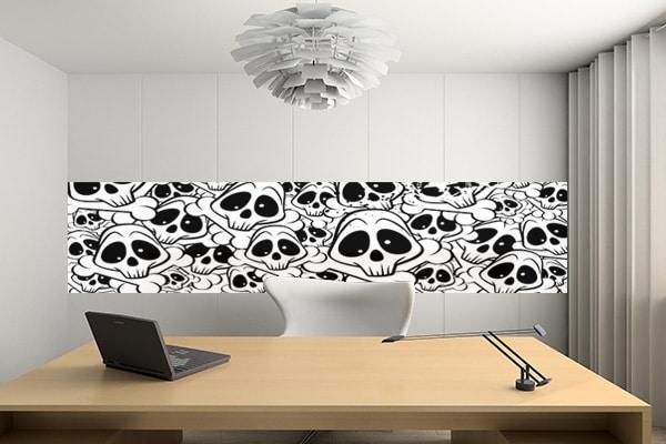frise murale décoration bureau originale izoa