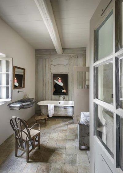 déco salle de bain baroque originale