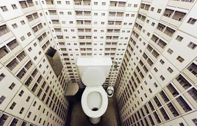 Toilette Papier Peint Excellent Dco Toilette Et Salle De Bain