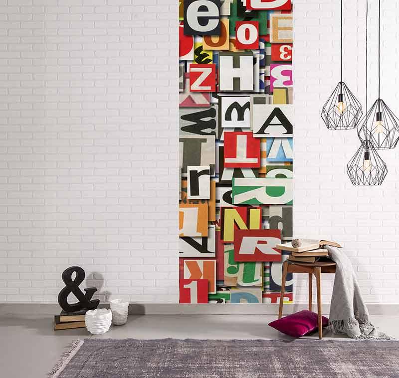 Déco murale lettres