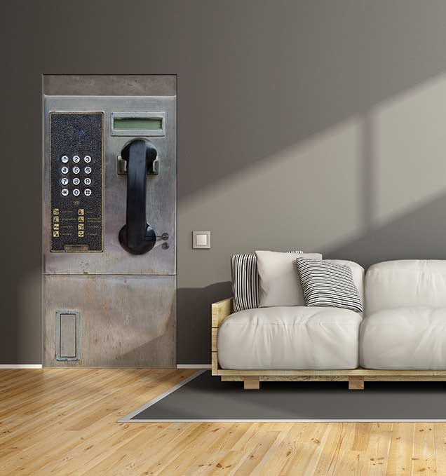 stickers porte 10 id es pour d corer vos portes blog izoa. Black Bedroom Furniture Sets. Home Design Ideas