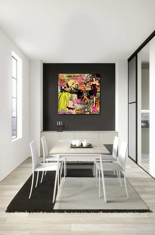 Tableau design pop art