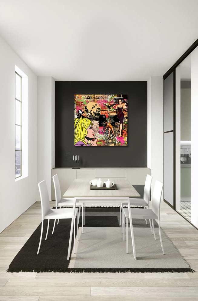 Tableau design pop art