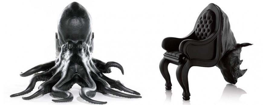 Fauteuil octopus Maximo Riera