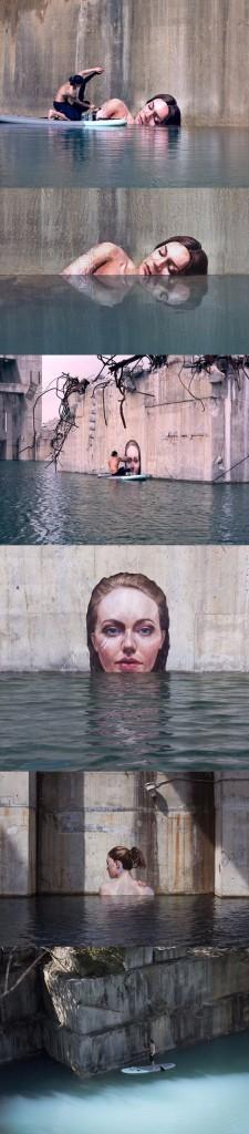 oeuvre réaliste art de rue