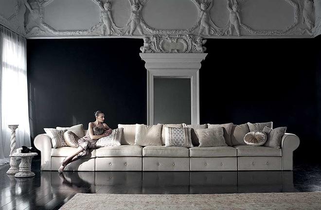 Salon ambiance baroque