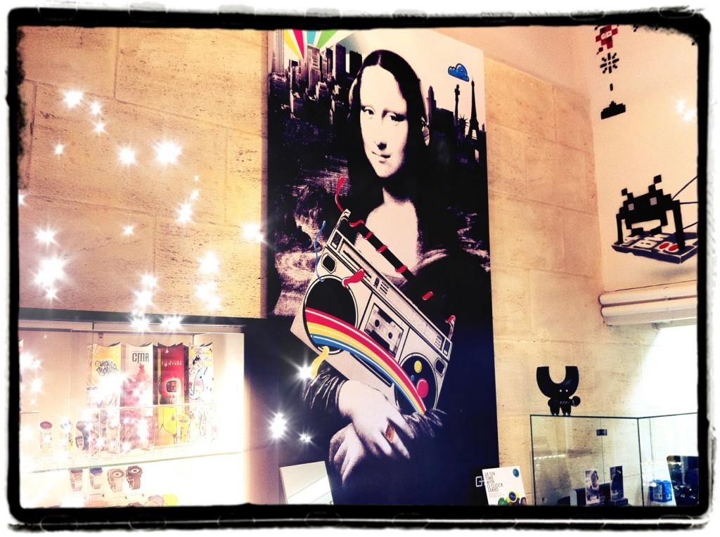 Tableau moderne Mona Lisa Horel Store