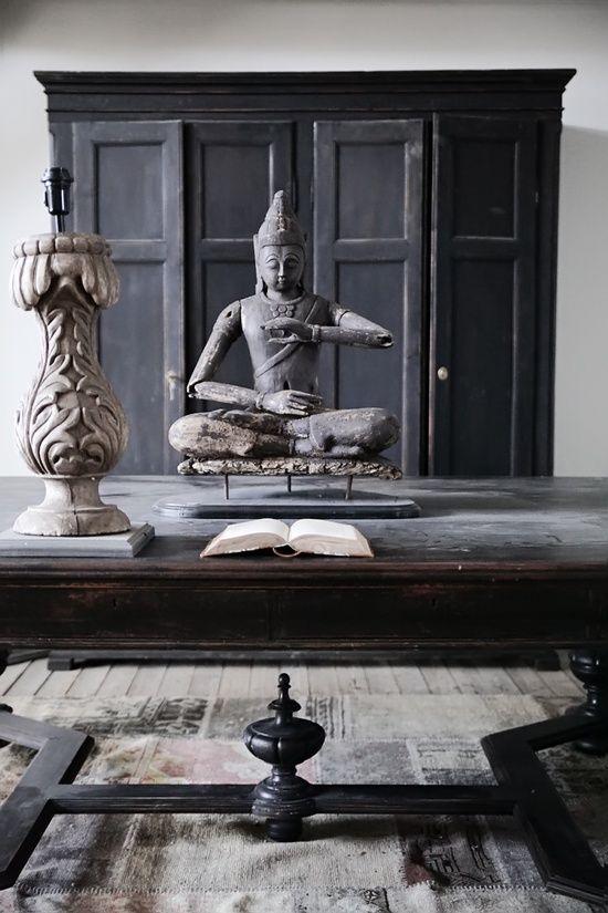 décoration zen statue