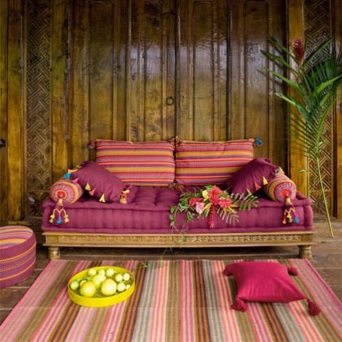 d co salon exotique chic blog toile design et moderne d 39 izoa. Black Bedroom Furniture Sets. Home Design Ideas