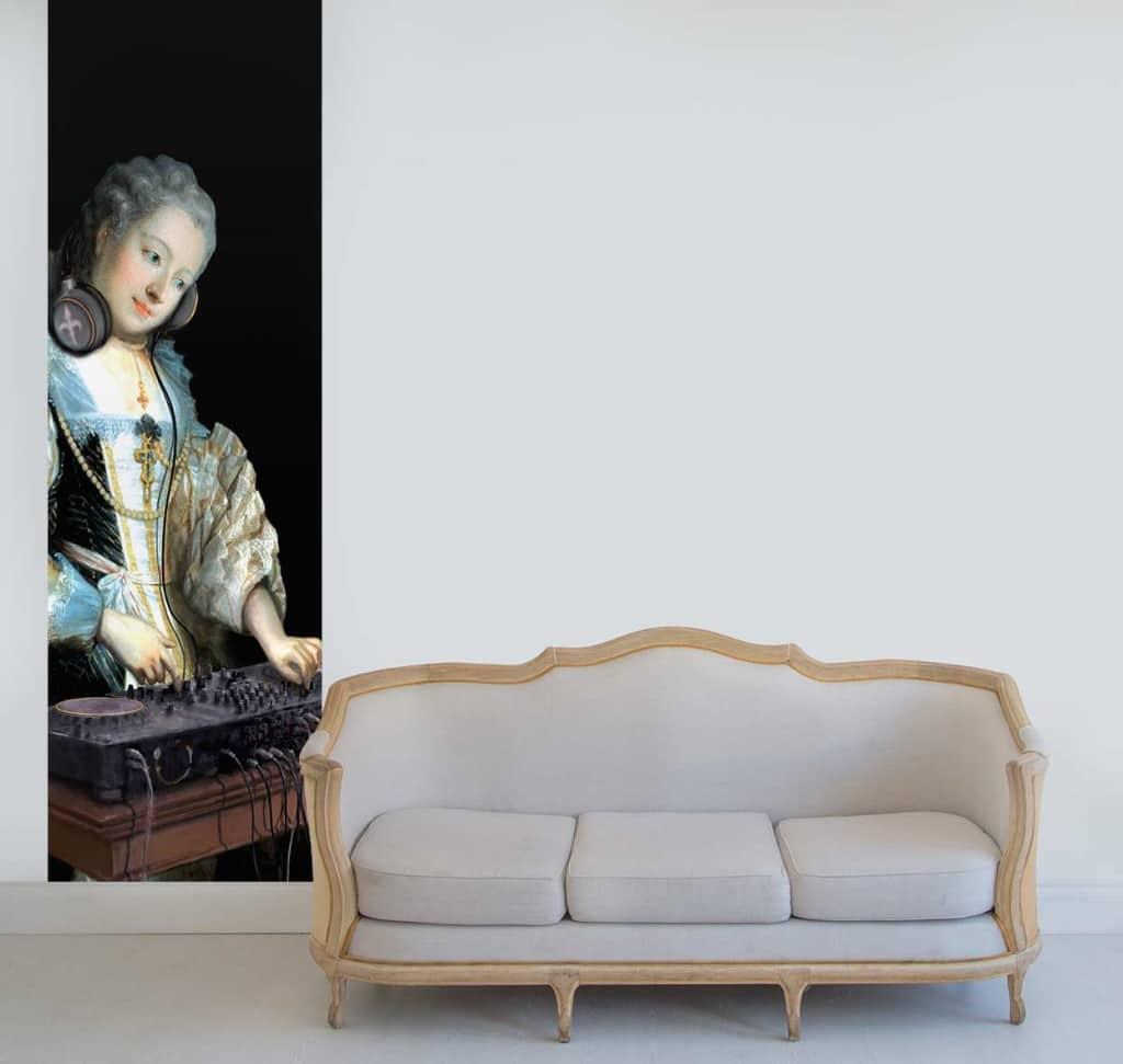 Papier peint original baroque