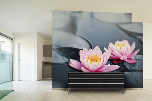 Papier peint zen Lotus sacré