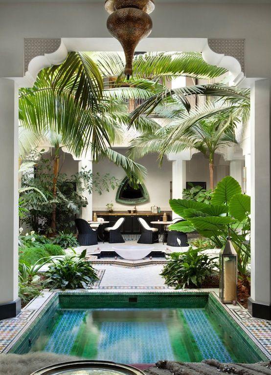 d co salon exotique chic blog izoa. Black Bedroom Furniture Sets. Home Design Ideas