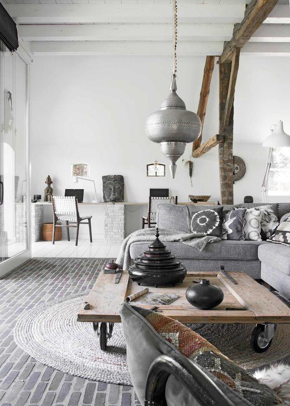 d co salon exotique chic. Black Bedroom Furniture Sets. Home Design Ideas
