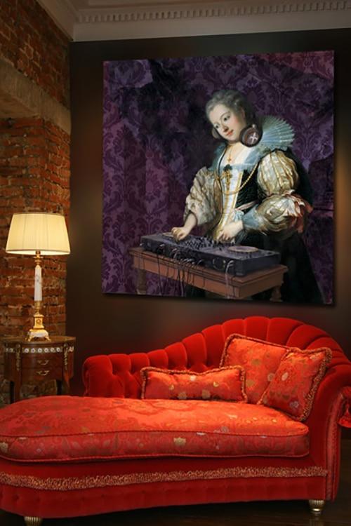 Tableau déco Baroque original