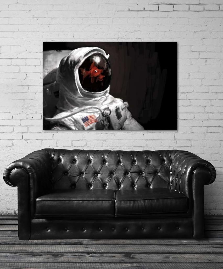 Tableau original Astronaute