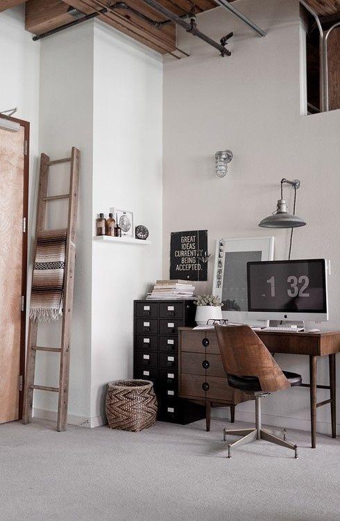 Le charme et l'élégance d'un bureau vintage