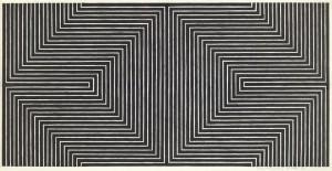 Frank stella minimaliste