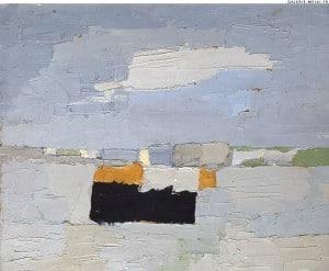 Nicolas stael peinture abstraite